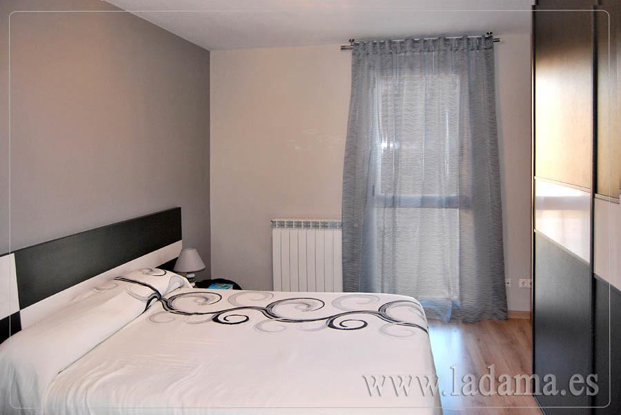Cortinas dormitorio moderno con barra visita nuestra web for Cortinas dormitorio moderno