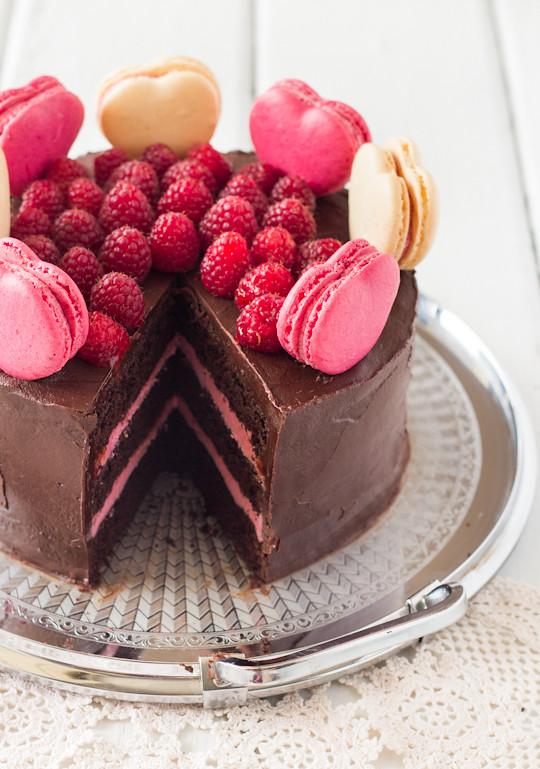 Chocolate Raspberry Layer Cake Liqueuer