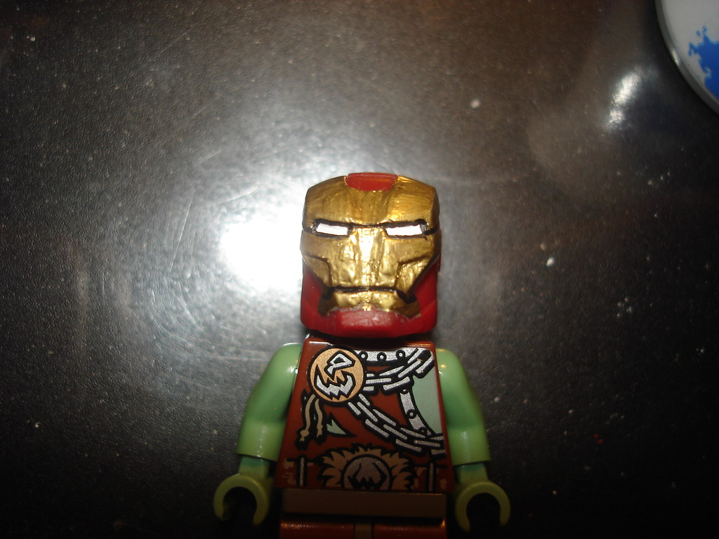 LEGO Iron Man 3 Red Snapper Mark 35 Armor Suit | Victor ...