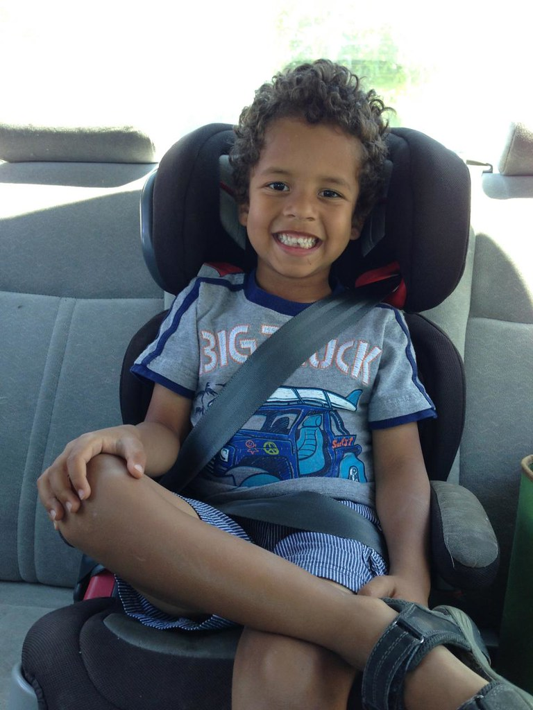 Booster Car Seat With Bakc Support