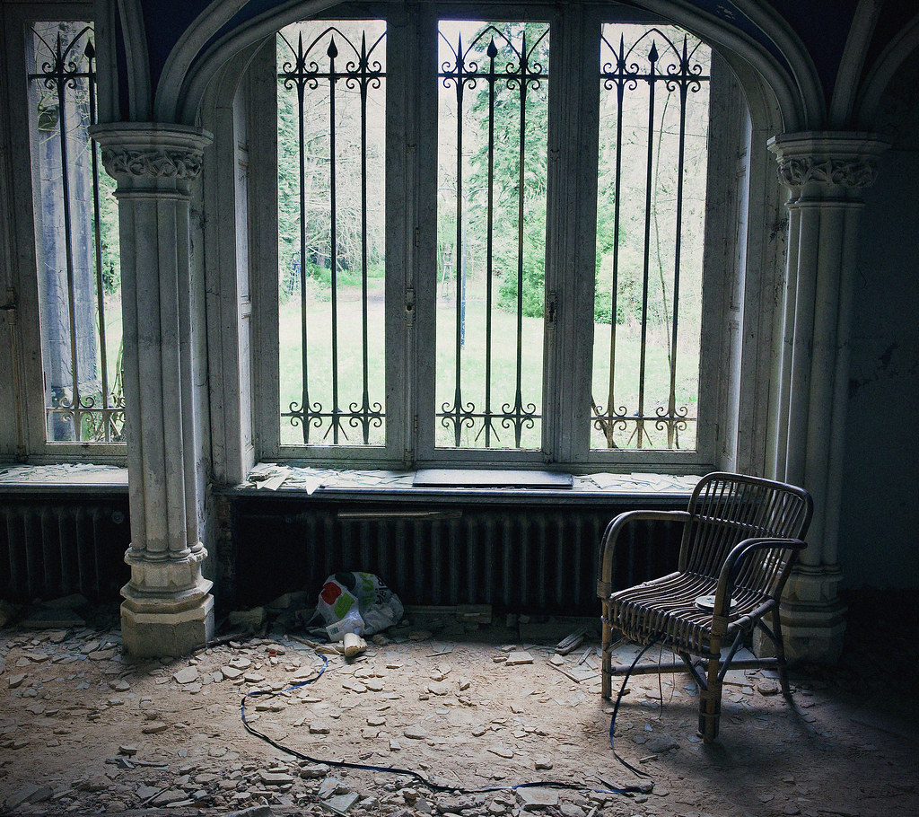 Empty Room: An Empty Chair, An Empty Room (Chateau De Noisy)