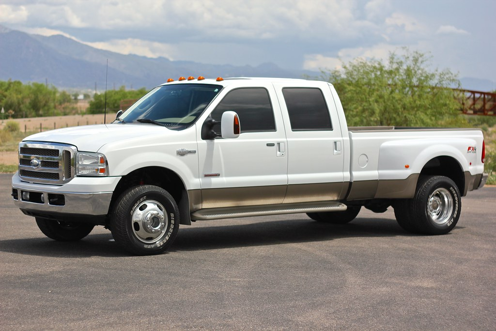 2006 ford f350 king ranch 4x4 diesel truck for sale. Black Bedroom Furniture Sets. Home Design Ideas