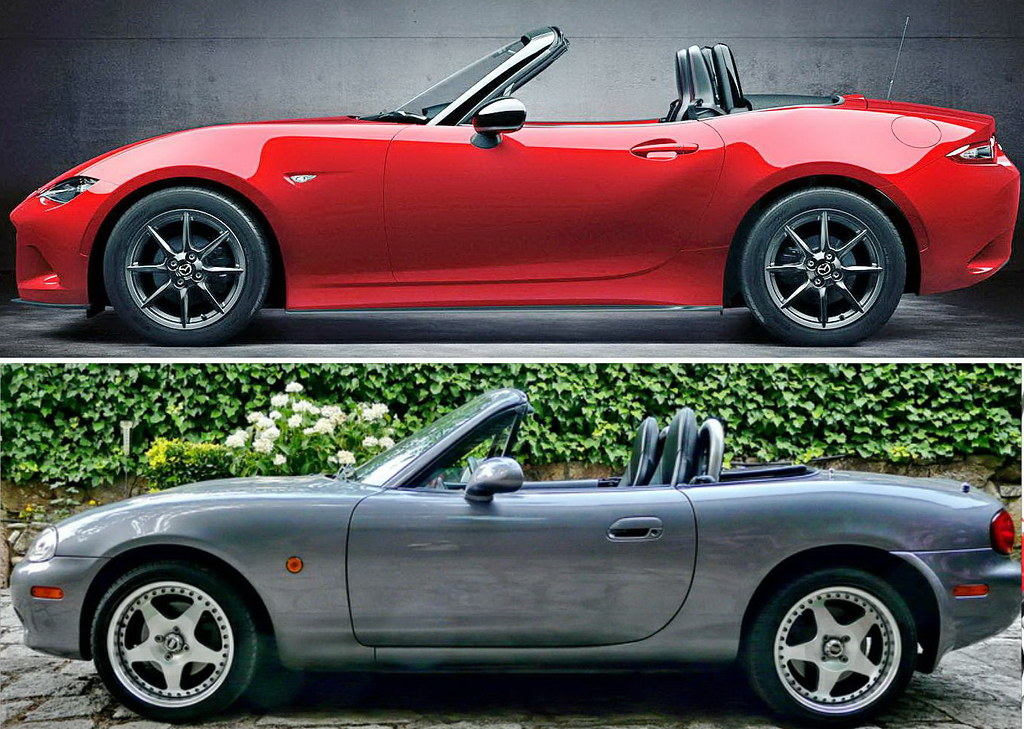 mazda mx 5 nd vs mx 5 nb jose luis rds flickr. Black Bedroom Furniture Sets. Home Design Ideas