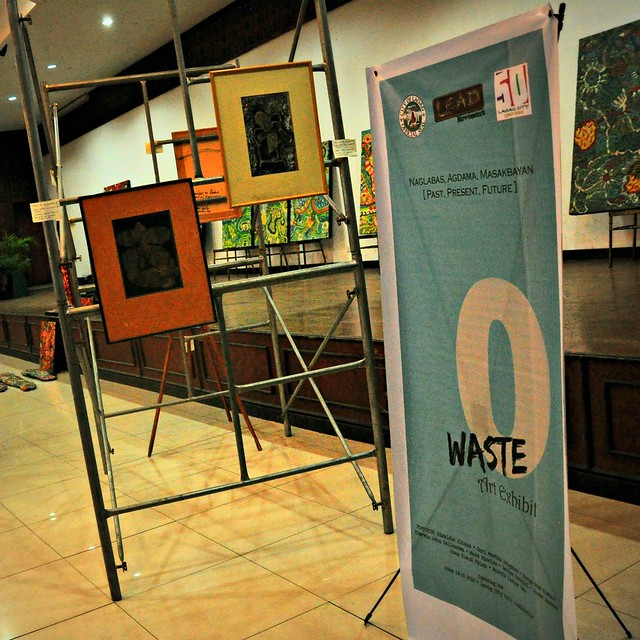 Zero Waste art exhibit in Laoag