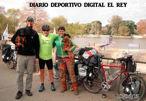 Por las Rutas del Mundo - Gualeguaychu con Ernesto