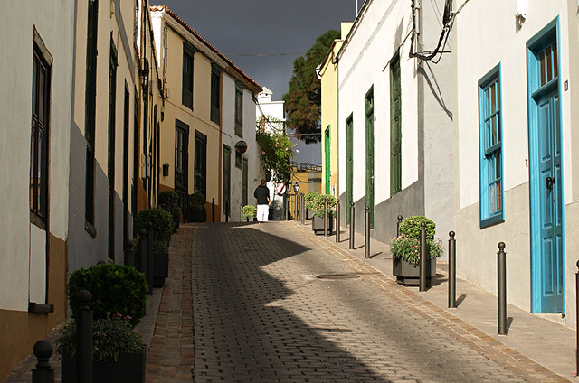Old street, San Miguel de Abona, Tenerife
