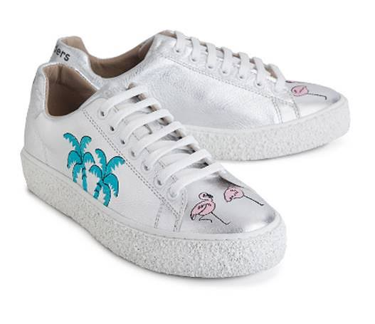 sneakers bordadas de Wonders