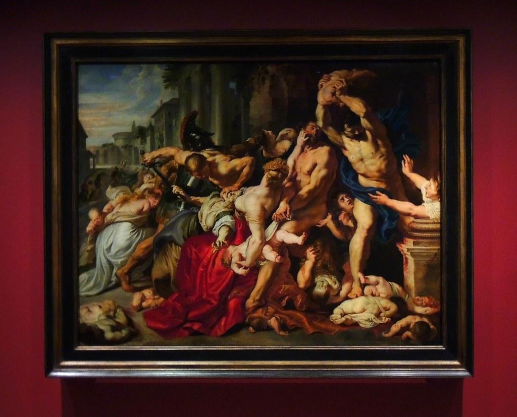 "Ruben's Masterpiece ""The Massacre Of The Innocents"" (182 c ..."