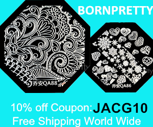 Born Pretty Store coupon 10% off JACG10