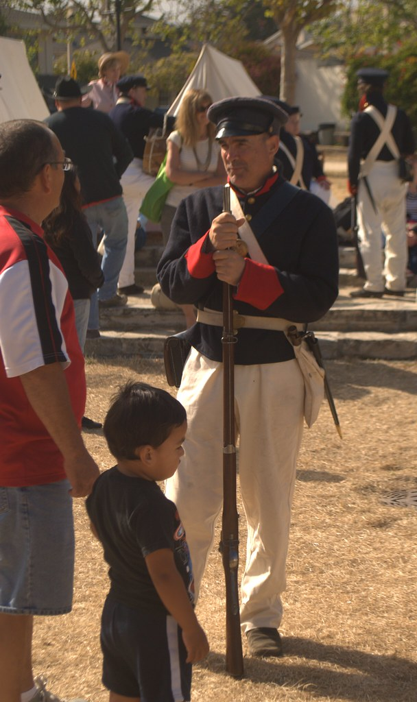 Mexican American War Us Marines Uniform As The Capital