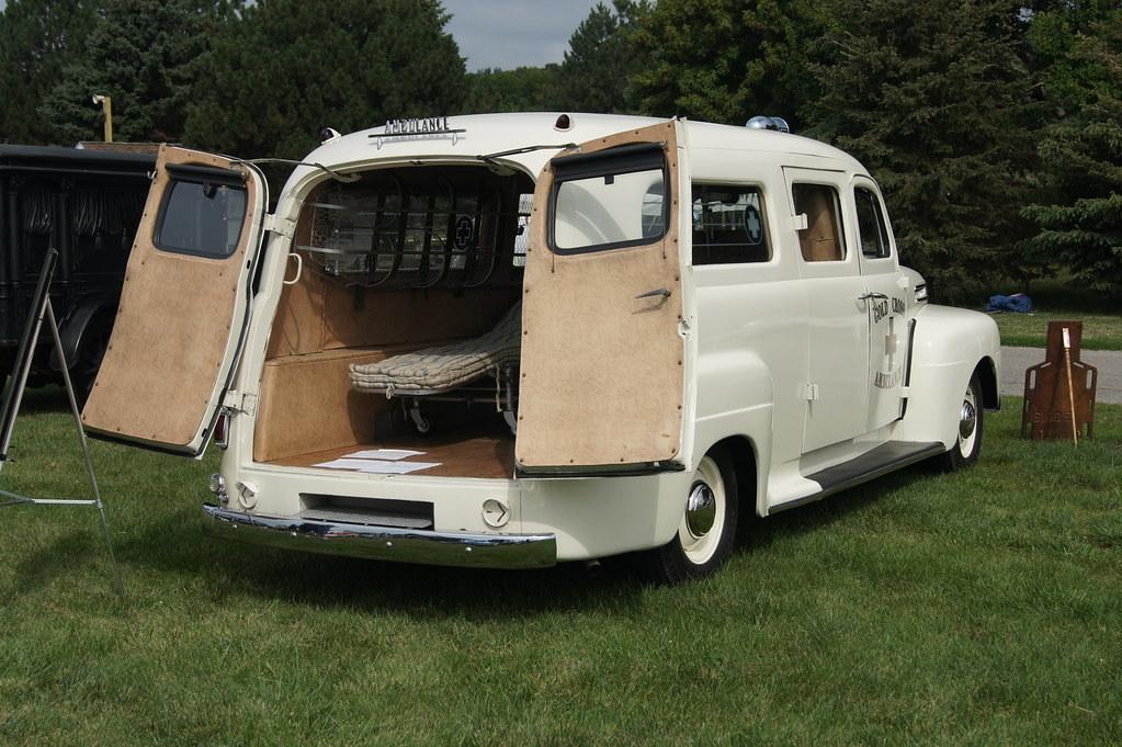 Professional Car Society: 1949 Ford Siebert Ambulance