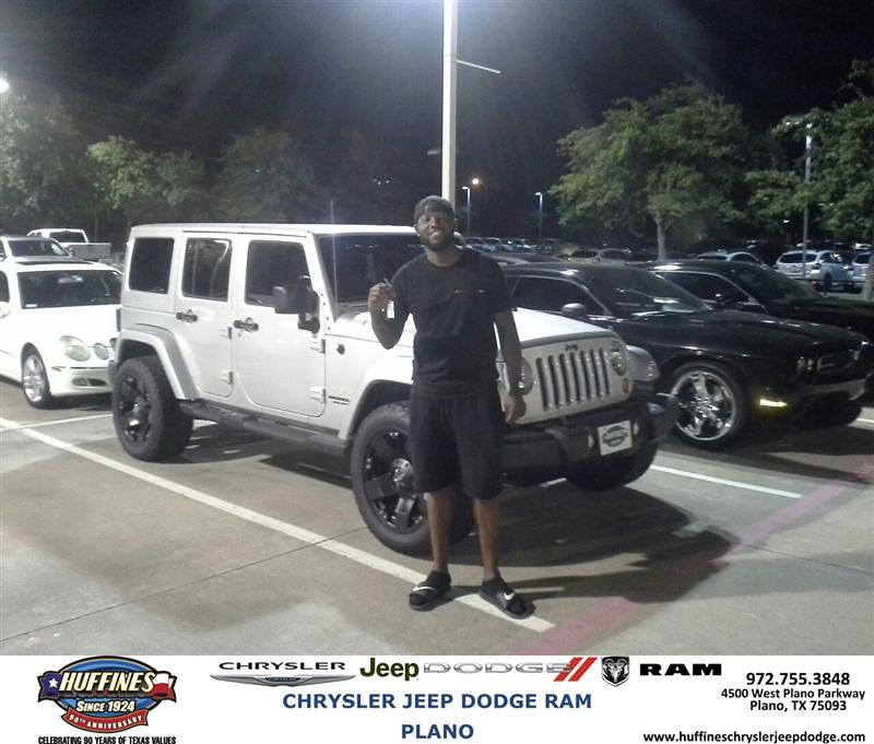 Congratulations To Patrick Appleton On Your Jeep Wrangle