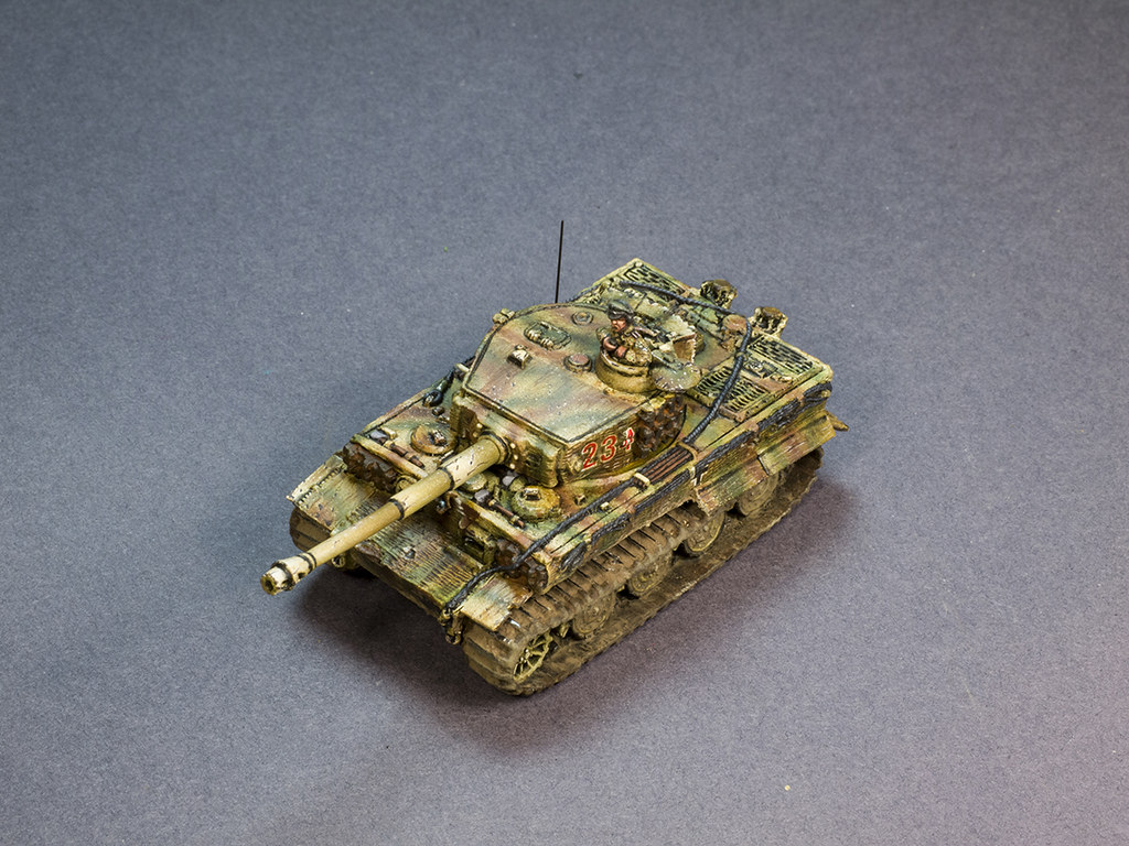 Flames of War Tiger Tank Stief