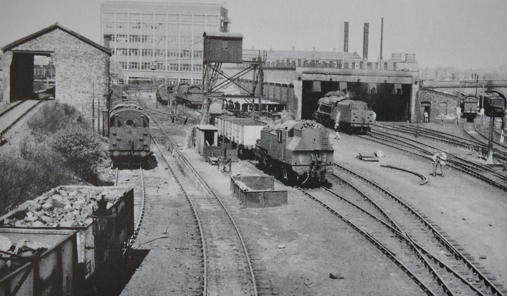 Bedford shed | The former Midland railway shed at Bedford ...