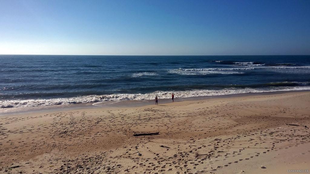 Une plage rien que pour nous!