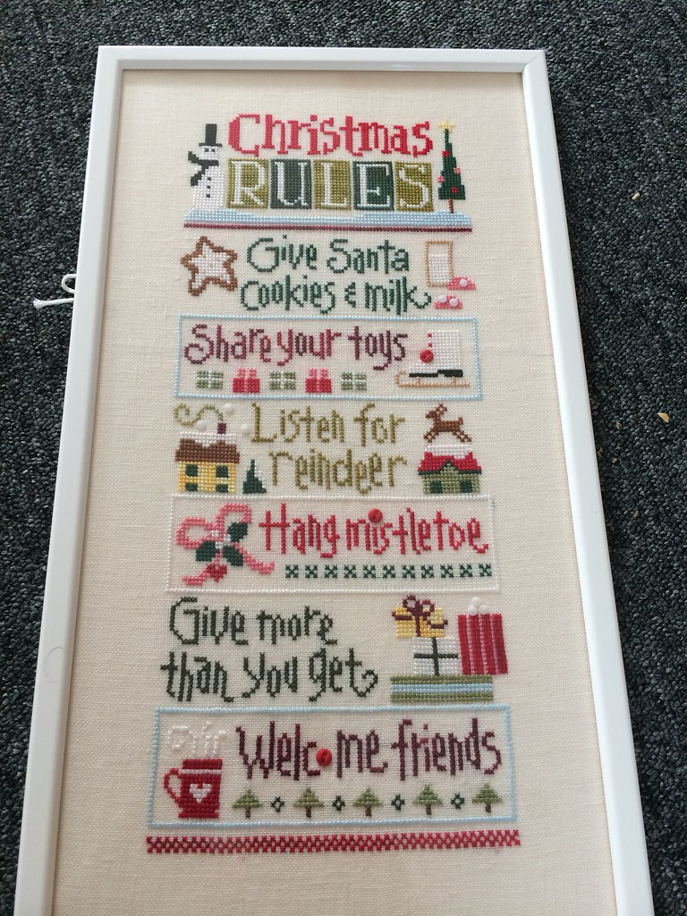 Christmas rules 2 | Louise Harland | Flickr