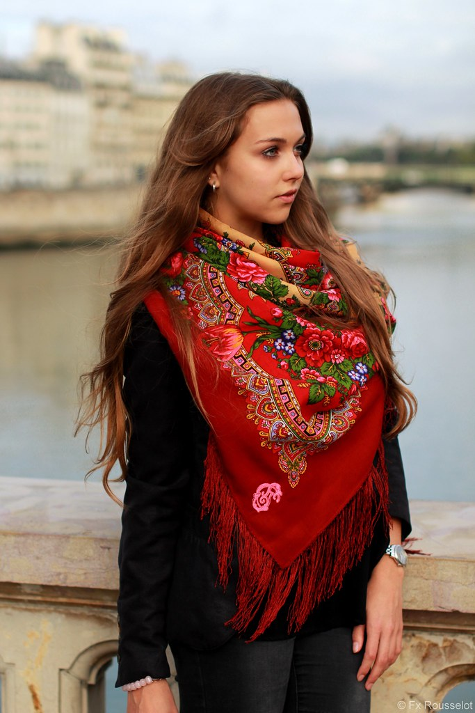 The lingerie! When tie russian woman