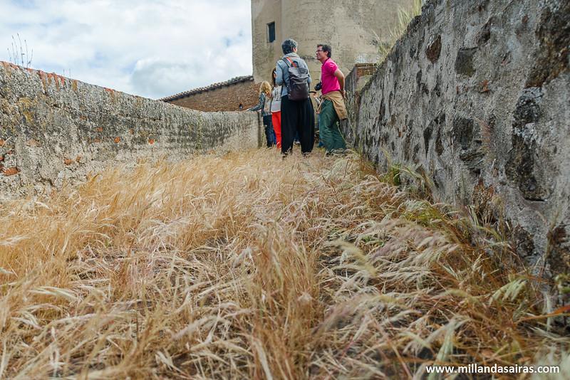 El camino por la muralla