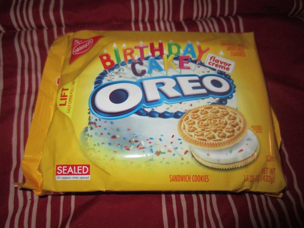 Golden Birthday Cake Oreo Recipes