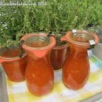Ofengeröstete Tomatensauce für den Vorrat
