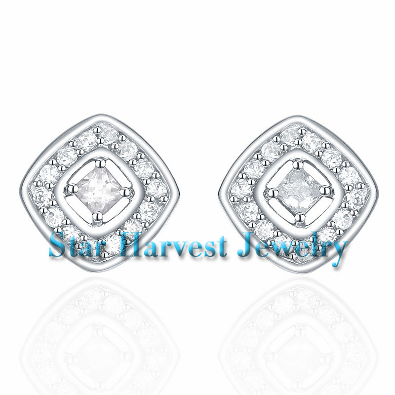 J-0016-E 925 sterling silver jewelry sets with square shap… - FlickrJ-0016-E 925 sterling silver jewelry sets with square shaped silver stud earrings - 웹