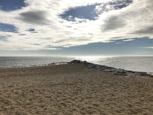 View of the open water as seen from Point Lookout State Park