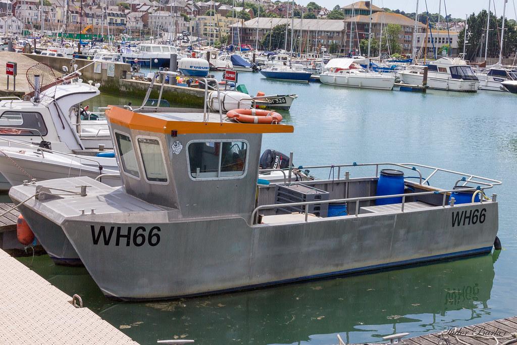 Alleycat fishing boat weymouth marina wh66 aluminium for Free fishing boats