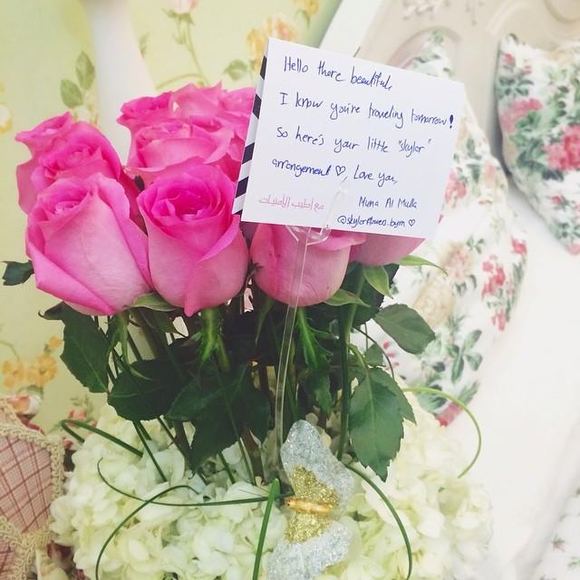 Beautiful Flower Thank You: Thank You For The Beautiful Going Away Flowers @itsmunasli