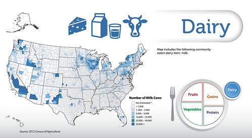 The Dairy map