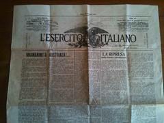 Giornale Prima Guerra Mondiale