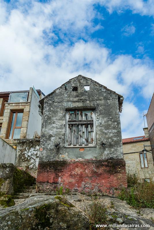 Alto donde se construyeron las primeras casas de Cangas