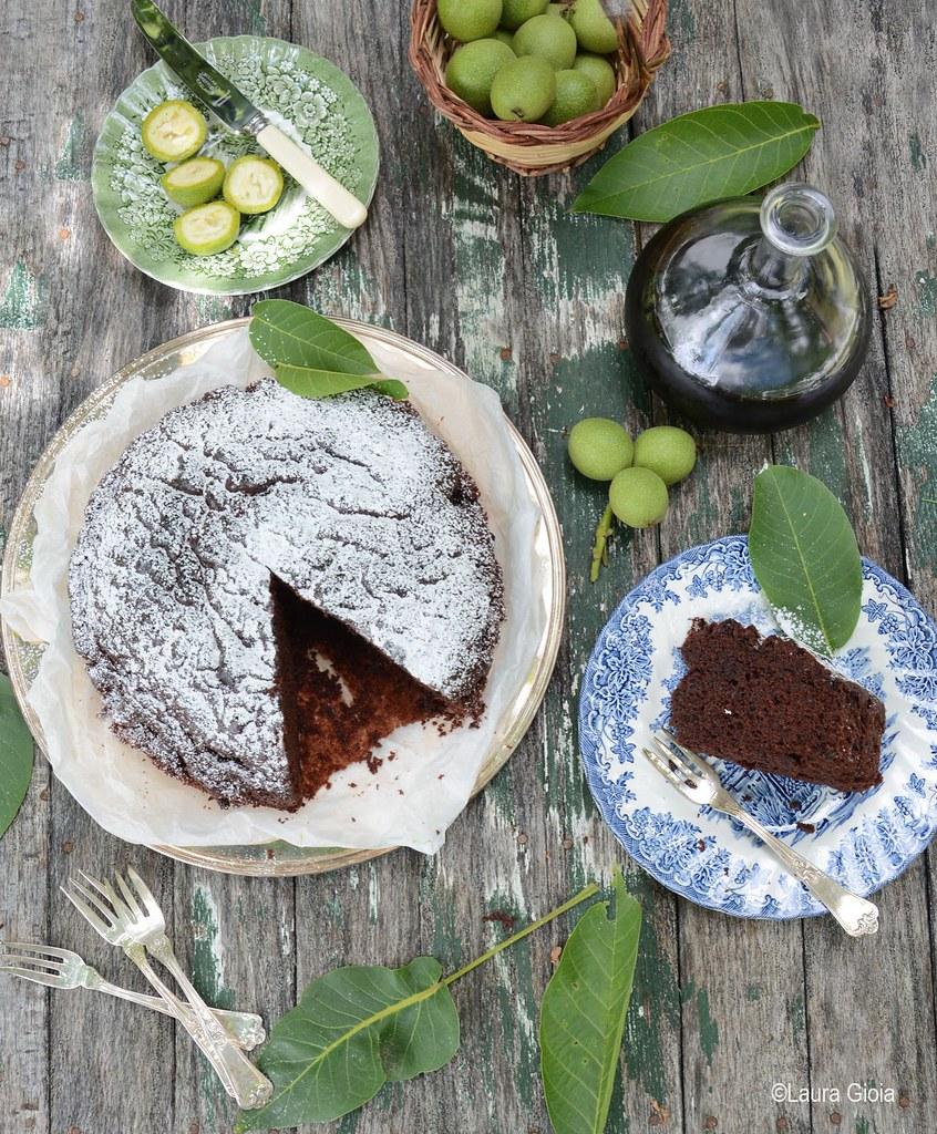 torta di ricotta e nocino_ Laura Gioia