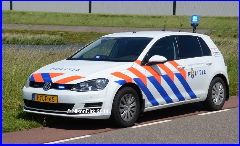 Dutch Police Golf 7 Brand New Volkswagen Golf 7 Unit