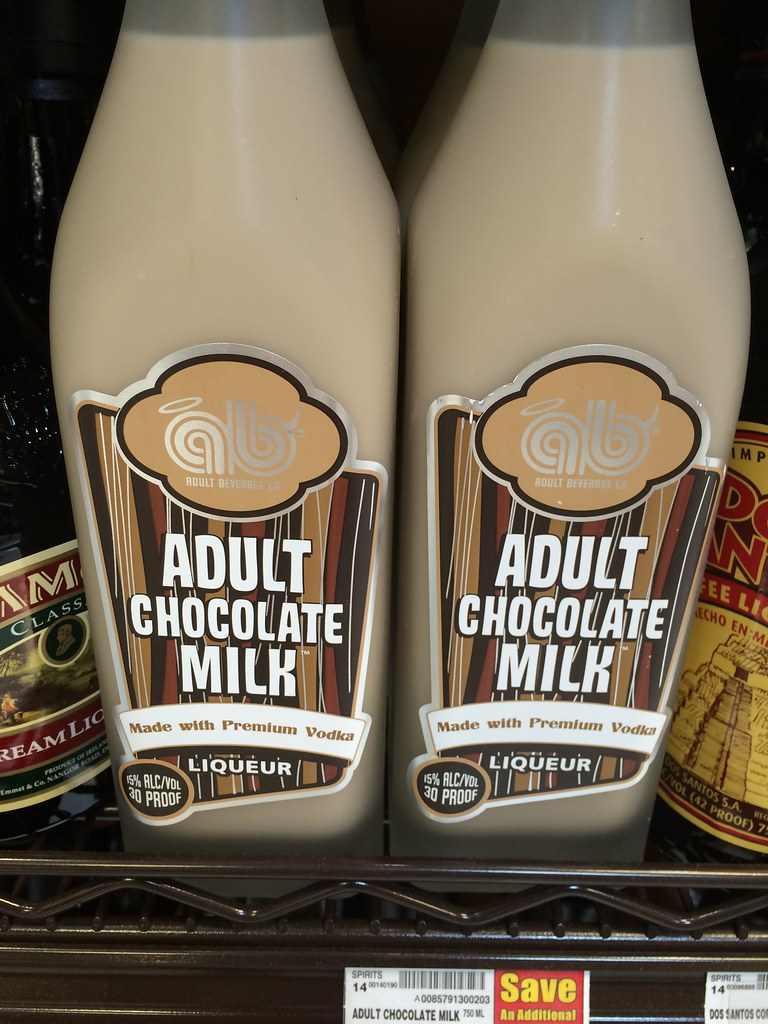 Adult Chocolate Milk | Some adult chocolate milk complete wi ...