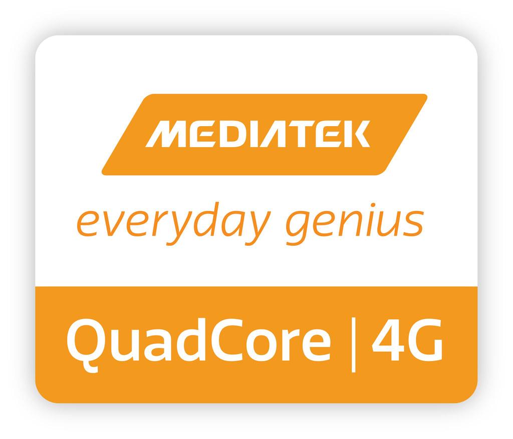 Quad Core Logo Quadcore 4g Product Logo