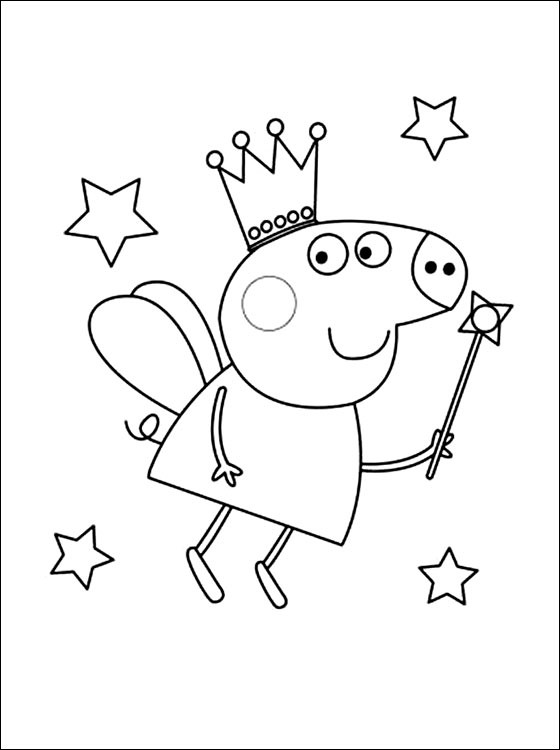 Peppa Pig14 Desenhos Do Peppa Pig Para Colorir Pintar Impr