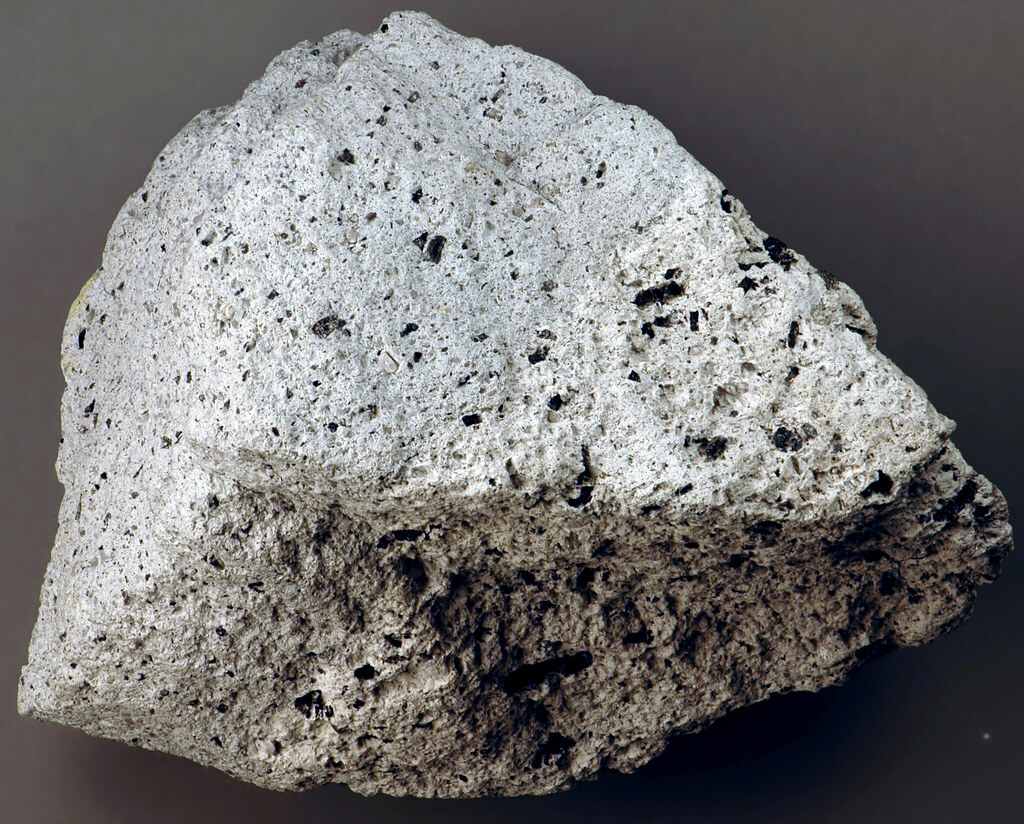 Andesite 1997 Lava From Soufriere Hills Volcano Montserr