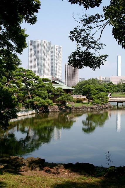 Tokyo Hamarikyu Teien Flickr Photo Sharing