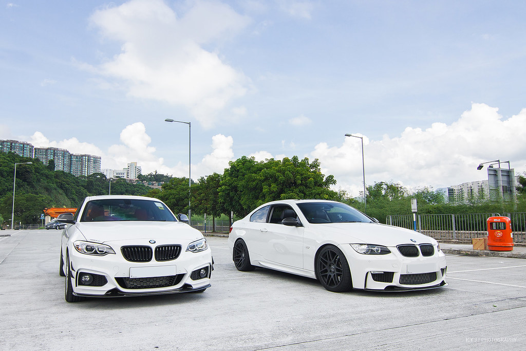 bmw 220i m sport exotics tuning cf vs 335i e92 1m front. Black Bedroom Furniture Sets. Home Design Ideas