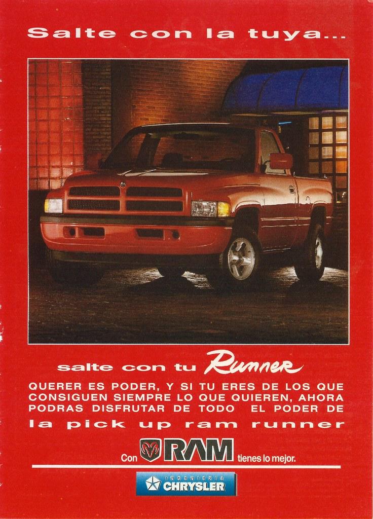 1994 Dodge Ram Runner (Mexico) | Interesting short ...