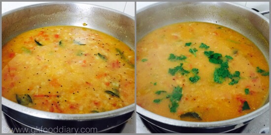 Tomato Gotsu with moong dal - step 4
