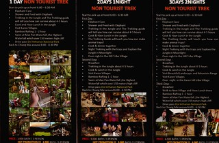 Brochure Mr Whisky Jungle Trek Chiang Mai Thailand 02