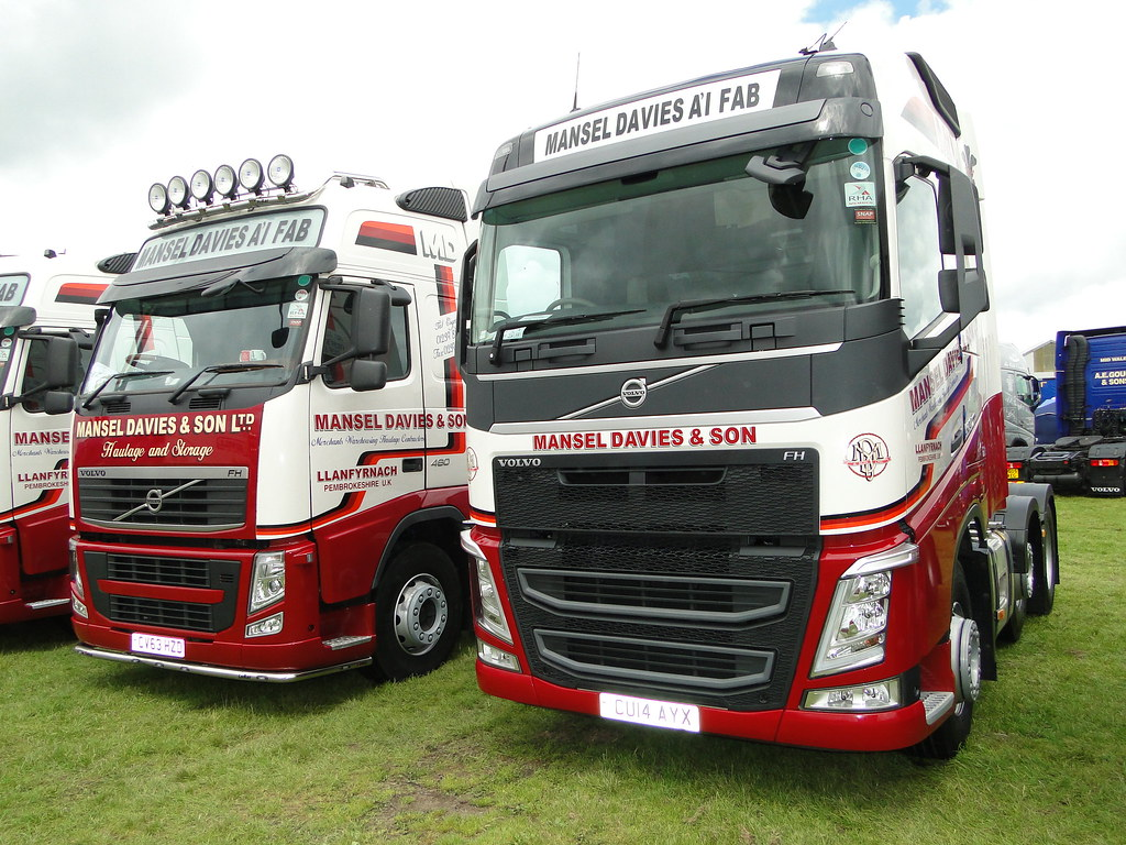 Mansel Davies & Son Ltd Volvos | Old and new model Mansel Da… | Flickr