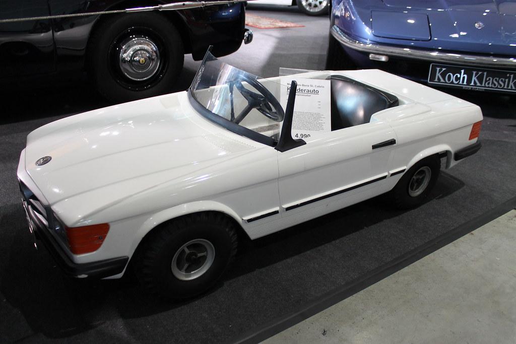mercedes sl cabrio kinderauto mit benzinmotor 1985 mod flickr. Black Bedroom Furniture Sets. Home Design Ideas
