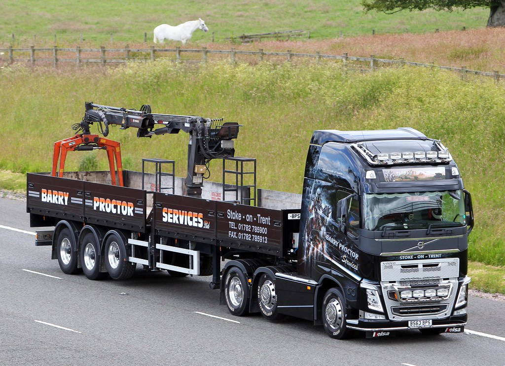 Volvo Fh New Look Bs63 Bps Barry Proctor Services Flickr
