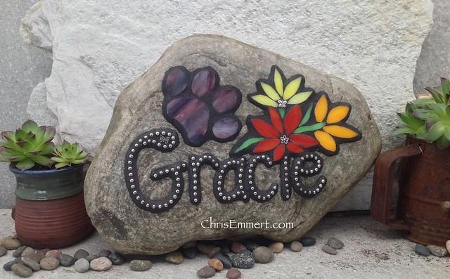 Mosaic Pet Memorials Garden Stones Flickr Photo Sharing