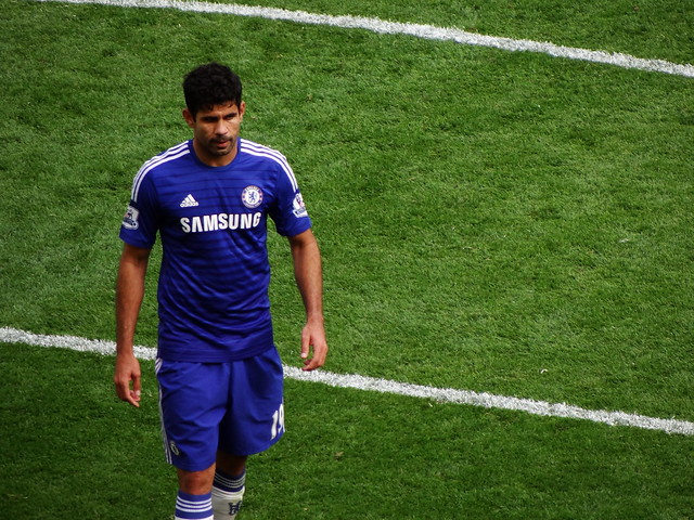 Chelsea FC (and Spain) striker Diego Costa