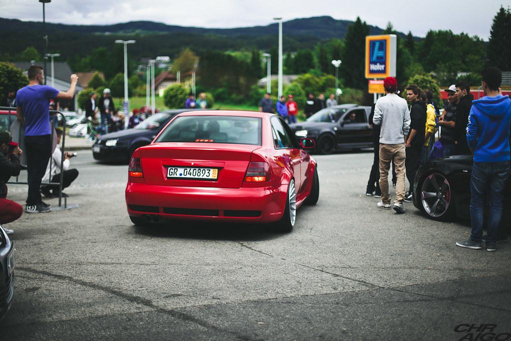 Audi Rs4 B5 Limousine On Rotiform Ind Wheels Aigo