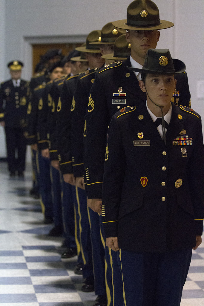2014 army drill sergeant of the year competition