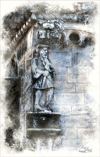 Image of King James V at Stirling Castle, Scotland